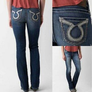 Big Star Maddie Bootcut Jeans Omega Pockets